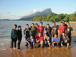 Damai laut, Sarawak