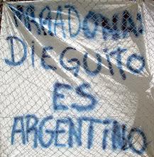 Maradona,Dieguito es Argentino.