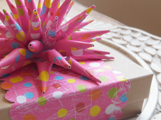 Make a Paper Spike Bow