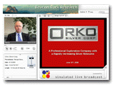 Orko Silver Presentation June 13, 2008