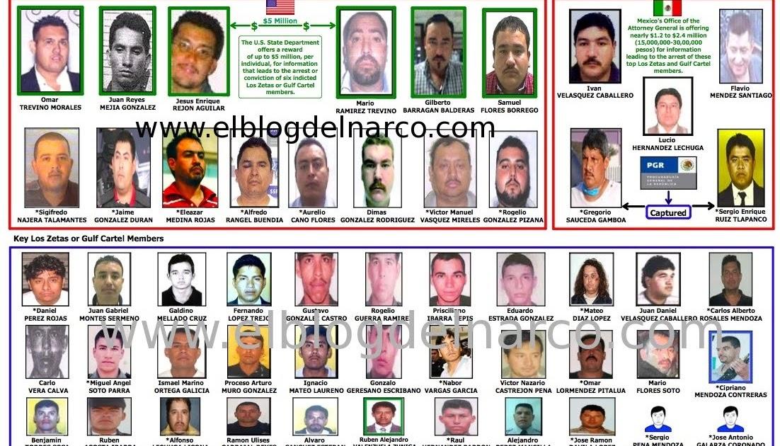 El Blog Del Narco En La Mira Zetas Y CDG