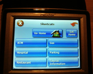 Nextar X3-11 shortcuts screen