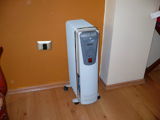Room heater in Taypikala hotel