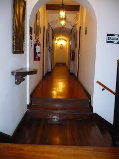 San Agustin Colonial Hotel, Lima, 3rd floor corridor