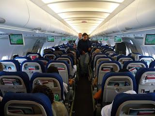 TACA A321 interior