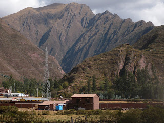 Mountains from Andean Explorer