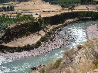 Vilcanota River from Andean Explorer