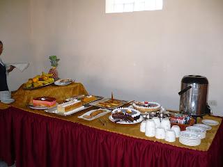 Dessert in Urubamba