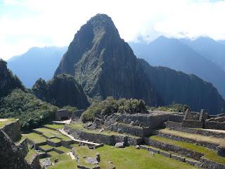 Huanya Picchu Over Machu Picchu