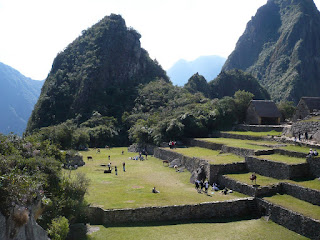 Park at Machu Picchu