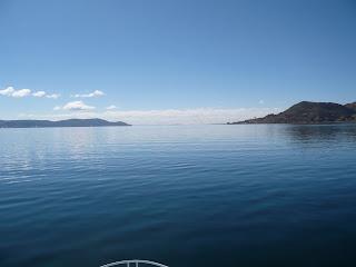 Capa Chica and Oyuyo peninsulas, lake Titicaca