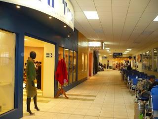 Gate area in Cusco airport