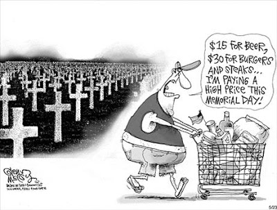 cartoons on memorial day