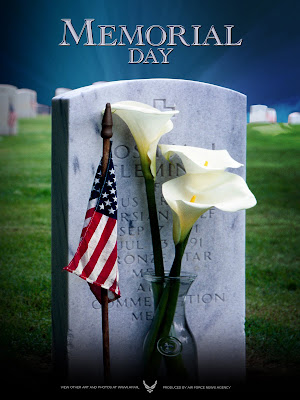 USA Memorial Day Greeting Cards