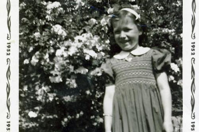 Sandy Burke as a youngster