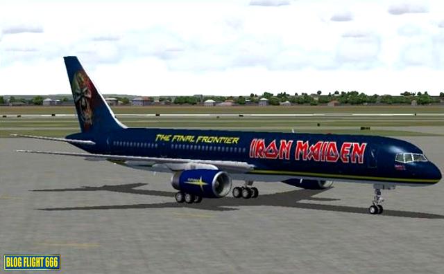 ... Como Será O Novo Ed Force One. Em Contrapartida, Alguns Fãs Começaram A  Postar Imagens De Como Gostariam Que Fosse O Novo Boeing 757 Do Iron Maiden!