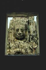 巴戎寺的佛脸