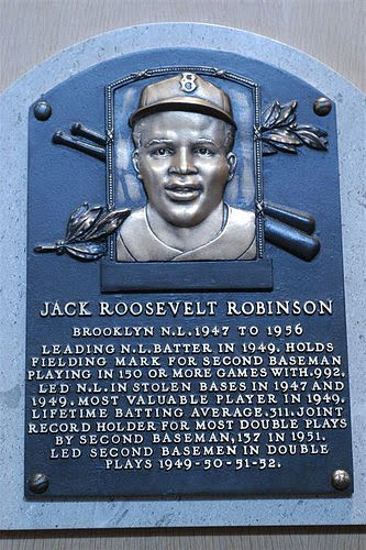 April 15, 1947: Jackie Robinson Takes The Field As A Brooklyn Dodger
