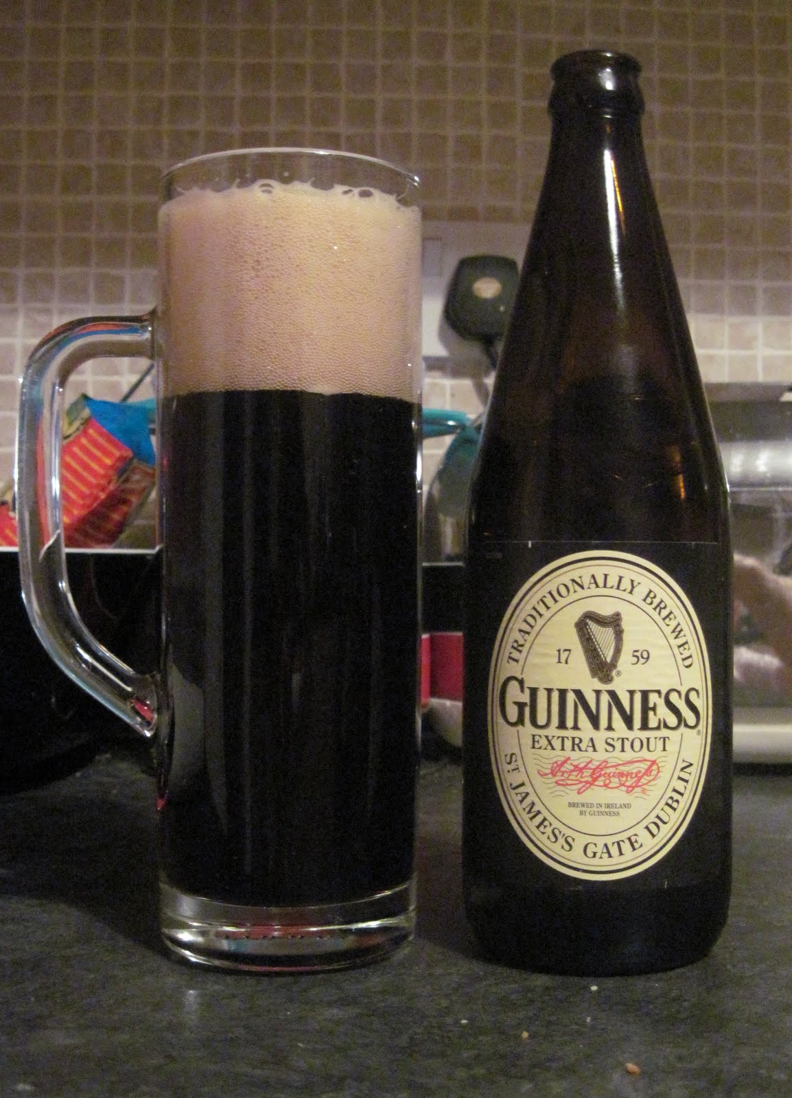 So i just arrived in ireland pretty much what i for Guinness beer in ireland