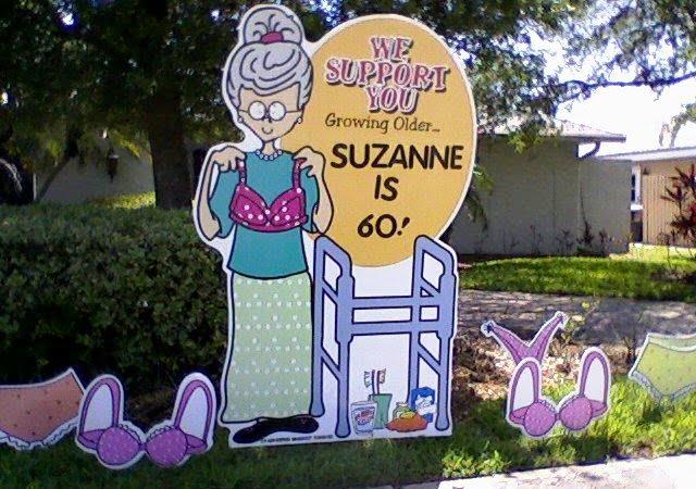 50th Birthday Lawn Decorations Tombstones Yard Display