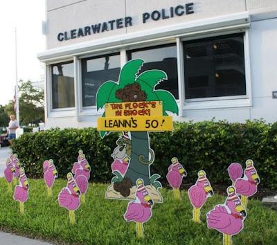 *birthday Yard Flocking & Decorations* Tampa, Fl Call