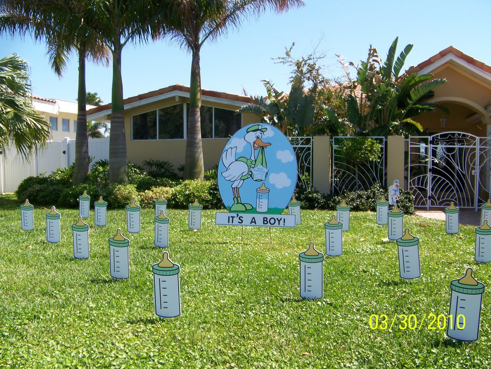 Get The FLOCK Outta My Yard GREAT BABY GIFT 813 777 7185