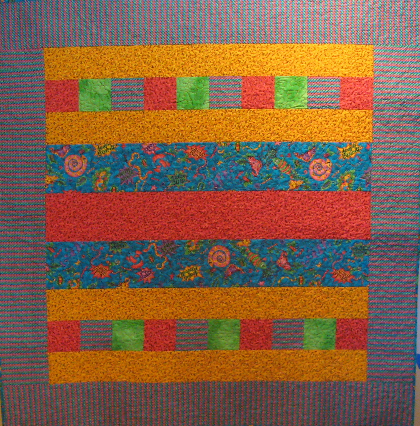 Quilter beth 39 s blog comfort for kids charity project and for Bright childrens fabric