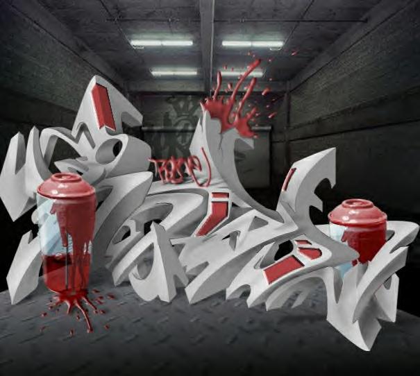 Art of Graffiti: Magical 3D