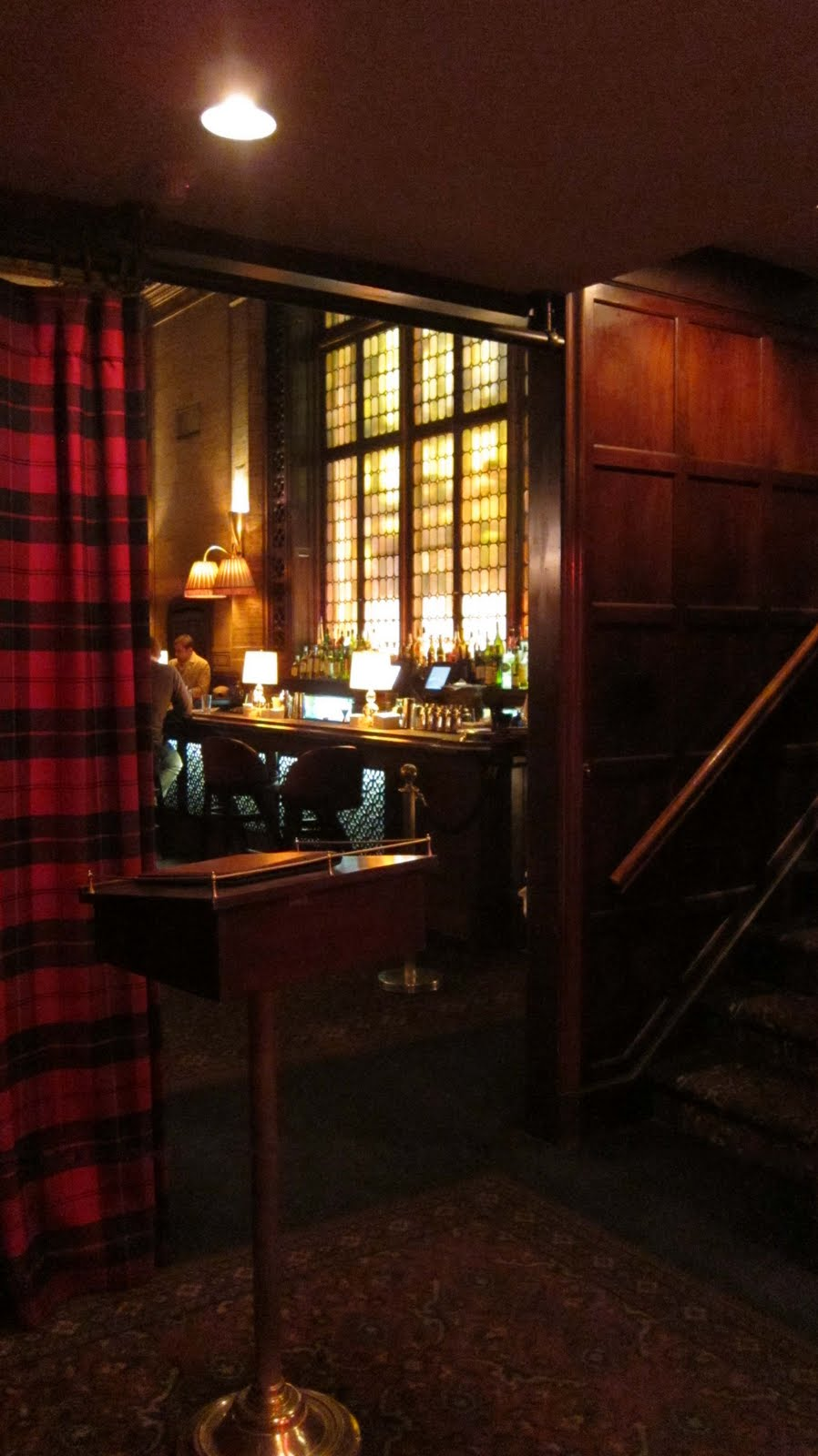 The Trad: Not Just Any Train Station Bar...