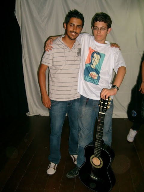 Eu e meu aluno Bruno Pavão!