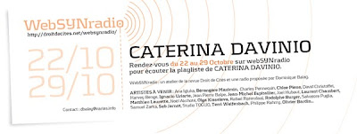 cdavinio websynradio 600 fr Rendez vous webSYNradio octobre 09