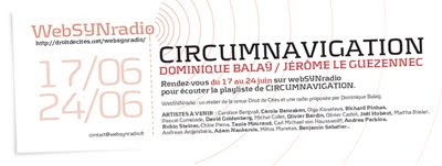 circum websynradio400 Circumnavigation sonore sur websynradio