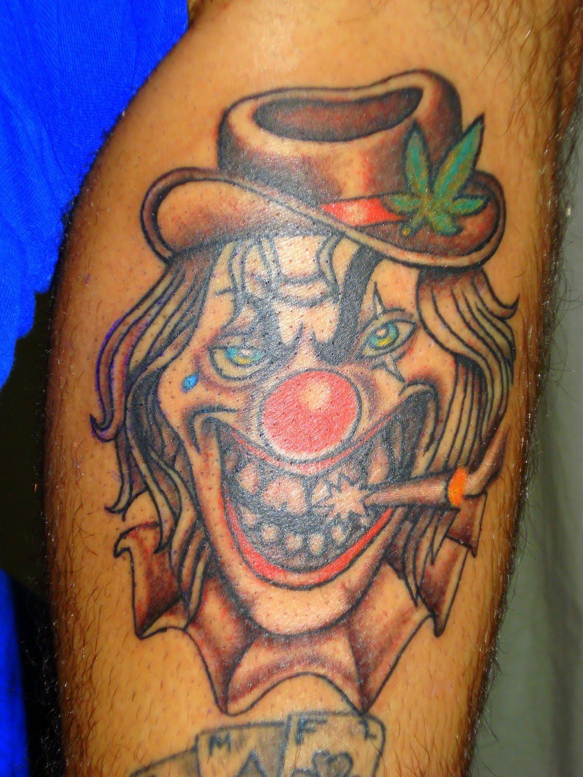 pin bufones tatuajes payasos gracias sergio esteban por