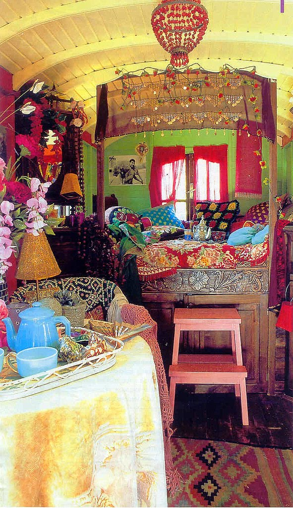 Wonderful Gypsy Caravan Interiors On Pinterest  Gypsy Wagon Interior Gypsy