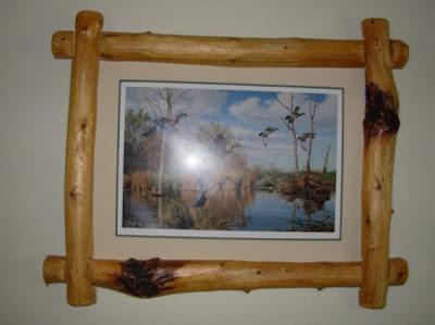 Log Picture Frames : Timber Ridge Log Design: Wood Picture Frame
