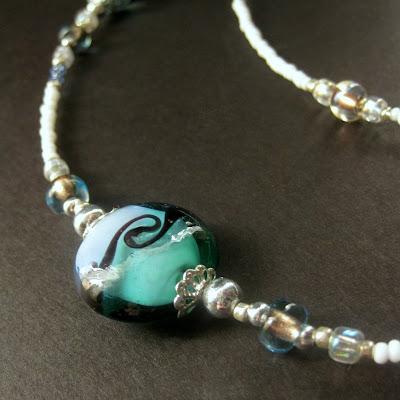 Caribbean Surf Handmade Eyeglass Chain