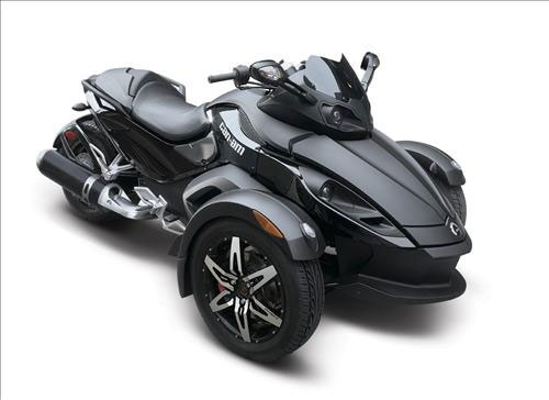 All Motorcycle Pictures 2009 Can Am Spyder Roadster Se5