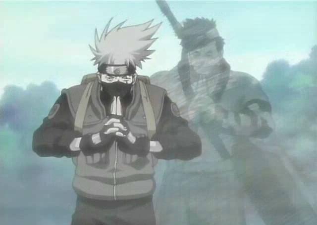 Kakashi,Naruto e Sasuke vs Zabuza - (Luta Completa - Full Fight ...