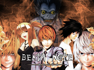 death note Manga Wallpaper