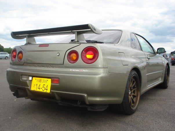 New Car Collections 2010 Nissan Skyline R34 Gtr