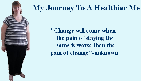 My Journey to a healthier me