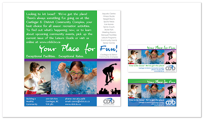rdck castlegar community recreation complex fitness print ad