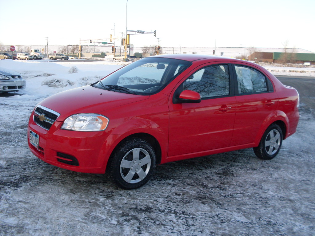 Chevy Aveo Red New
