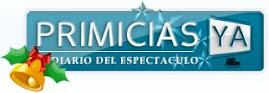 El logo del blog oficial de Telefe decorado por las fiestas!