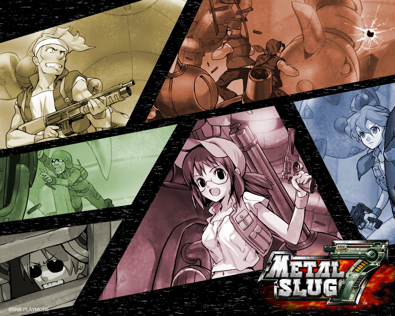 Metal Slug HD & Widescreen Wallpaper 0.768017818289898