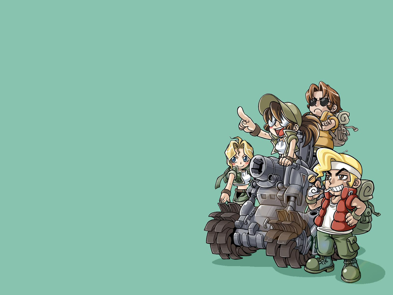 Metal Slug HD & Widescreen Wallpaper 0.691869458504797