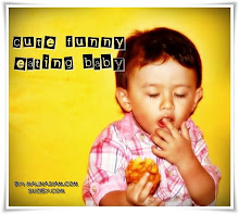 Cute Funny Eating Baby