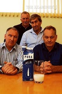 men with milk