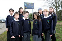 pic of grumpy schoolkids