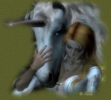 El unicornio en Paz con el ser humano